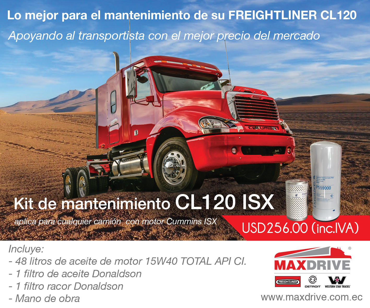 promotion CL120 six